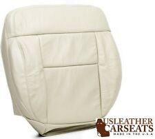 2004 Ford F150 Lariat F-150 PASSENGER Side Bottom Leather Seat Cover Light Tan
