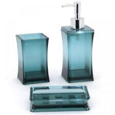 Set di accessori da bagno beige portasapone/dispenser