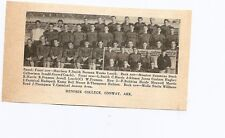 Hendrix College Conway Arkansas 1939 Football Team Picture