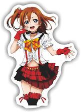 """2x Love Live Anime Die Cut Sticker Decals Size 6""""X5"""" Laptop Skate LL002"""
