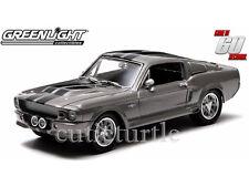 Greenlight Gone in 60 Sixty Seconds 1967 Shelby GT500 Eleanor 1:43 Grey 86411