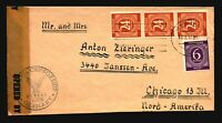 Germany 1947 Censored Cover to USA - Z17107