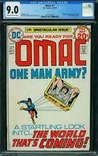 OMAC 1 CGC 9.0  OWW PAGE ORIGIN AND FIRST APPEARANCE OF OMAC A4