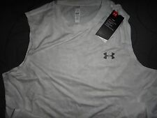 UNDER ARMOUR DIGITAL CAMO PATTERN FITTED SHIRT TANK SIZE 2XL XL L MEN NWT $$$$