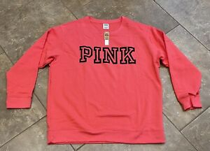 Victoria's Secret Pink Everyday Lounge Campus Crew size XL NEW WITH TAGS $50 NWT