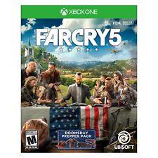 Far Cry 5 Xbox One (Microsoft Xbox One, 2018) BRAND NEW!