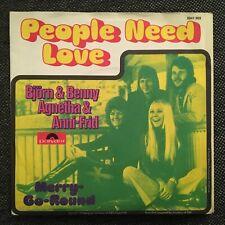 7'Björn&Benny,Agnetha&Anni-Frid (ABBA) >People need love<   Germany
