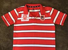 St George Illawarra  Boys NRL Supporters Collar T-shirt Size 8/10
