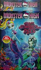 Monster High: Great Scarrier Reef (DVD, 2016, Wide-screen) Brand New W/Slipcover