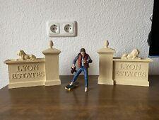 Zurück in die Zukunft Lyon Estates Tor für Neca Figuren neu!