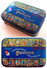 1953 Jewish TIN PASSOVER KOSHER CHOCOLATE Lithograph BOX Judaica EXODUS Haggadah
