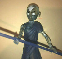 AVATAR the LAST AIRBENDER toy AANG in Avatar State clear blue Action Figure DST