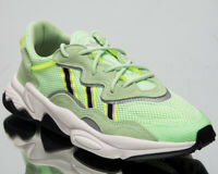 adidas Originals Ozweego Mens Glow Green Casual Lifestyle Sneakers Shoes EE6466
