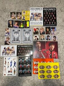 NCT 127 NEO ZONE and PUNCH photocard and album collection