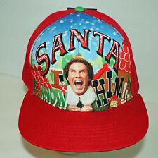 ELF Movie Hat Buddy - Santa - I Know Him - Ferrell Snapback Baseball Cap  NEW