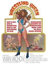 The Wrestling Queen DVD Movie!  1973 Documentry Film!  Classic Wrestling!!