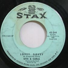 Soul 45 Otis & Carla - Lovey Dovey / New Year'S Resolution On Stax
