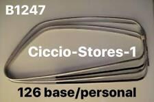 B1247 -  RASAVETRO VETRO CON CORNICE - FIAT 126 DX + SX (KIT 4 PEZZI)