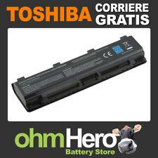 Batteria POTENZIATA 10.8-11.1V 5200mAh per Toshiba Satellite C850-19D