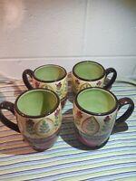 "4 TableTops Unlimited Espana- Lexi Pine Mug 4- 7/8"" Tall  Southwestern"