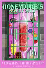 Harry Potter Honeydukes Sweet Shop Poster 11X17 Art Print