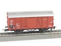 ROCO Spur H0 46016 gedeckter Güterwagen Gklm, DB, Epoche IV, VP, AC