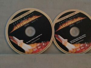 NO CASE DVD: DISC ONLY ARMAGEDDON 2 DISCS SPECIAL EDITION PAL R4 1998