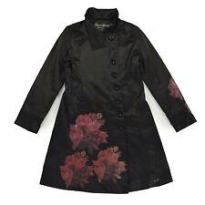 DESIGUAL Damen Mantel Gr.40 DE 38 schwarz Jacke Woman Jacket Cardigan TOP