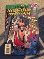 Wonder Woman #175 Joker: Last Laugh Joker Cover 1st Print [DC Comics, 2001]