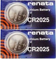 CR 2025 RENATA WATCH BATTERY (2 piece) ECR2025 FREE SHIPPING Authorized Seller