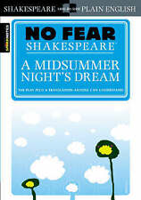 A MIDSUMMER NIGHT'S DREAM No Fear Shakespeare by William BNew FREE Shipping