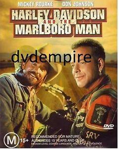 Harley Davidson And The Marlboro Man DVD Mickey Rourke Don Johnson Brand New