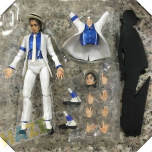 Michael Jackson Action Figure Moonwalk Statue Model Toy Collection New in Box