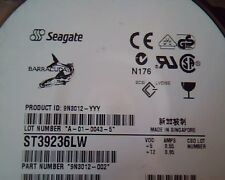 Hard Drive Disk SCSI Seagate Barracuda ST39236LW A-01-0043-5 9N3012-002 0005 HDD