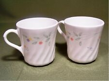 2 Corelle English Meadow Mugs Excellent Retired 81/2 oz