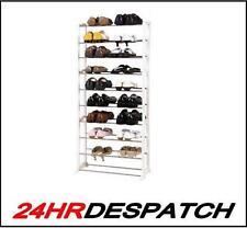 10 Niveles Estante Zapato rack/organizer/stand Para 30 Pares De Zapatos