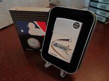 HOUSTON ASTROS ZIPPO LIGHTER MINT IN BOX RETIRED DESIGN MLB