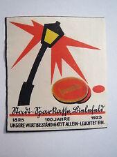 Bielefeld - Stadt-Sparkasse - 100 Jahre 1825-1925 / Reklamemarke