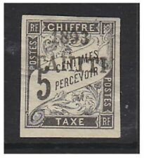 Tahiti - 1893, 5c Black Postage Due stamp - M/M - SG D48