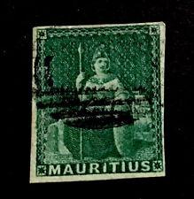 Mauritius SG27 4d Victoria 1858 4 margins used CV £200