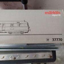"""MARKLIN DIGITAL HO ART.37770 SOUND LOCOMOTIVA DIESEL """"SVT 137"""" BOX ORIGINALE"""