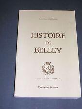 Ain Monographie de la ville de Belley dans l'Ain 1979