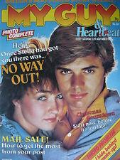 MY GUY MAGAZINE 27/11/82 - ERASURE (VINCE CLARK)