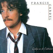 Francis Cabrel - Quelqu'un de L'interieur [New CD] Rmst, Germany - Import