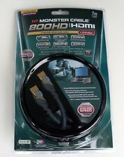 Monster Cable 800HD Ultra-High Speed HDMI 1 M 3 FT Ready for 3D Displays