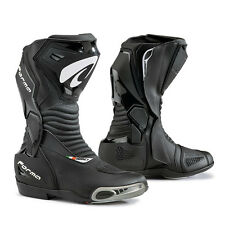 motorcycle boots | Forma Hornet Dry black racing waterproof track road gear ride