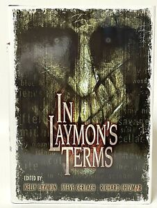 First Edition In Laymon's Terms Cemetery Dance Hardcover Book OOP Laymon Chizmar