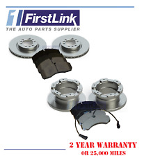 FITS - Iveco Daily Mk2 MK3 1999-2006 60C 65C Front and Rear Brake Discs Pads