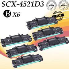 6 PK SCX-4521D3 Black Toner Cartridge for Samsung SCX-4521F SCX-4321 SCX-4521FR