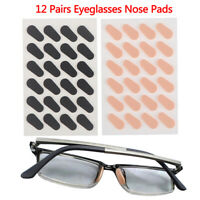 12Pairs Eye Adhesive Soft Comfort Foam Nose Pads Anti-Slip Eyeglass Nose PaDD